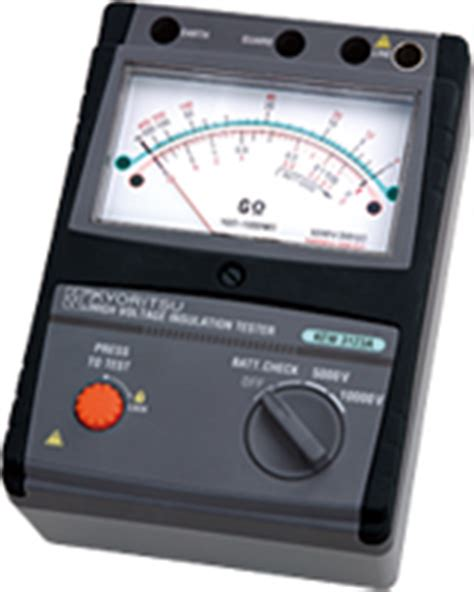Kyoritsu 3122a High Voltage Analog Insulation Tester kyoritsu malaysia tools equipment distributor