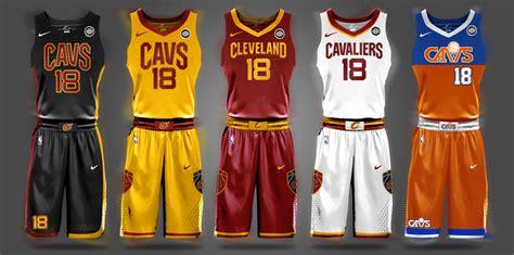 jersey design cavs nba nike uniform concepts i am brian begley