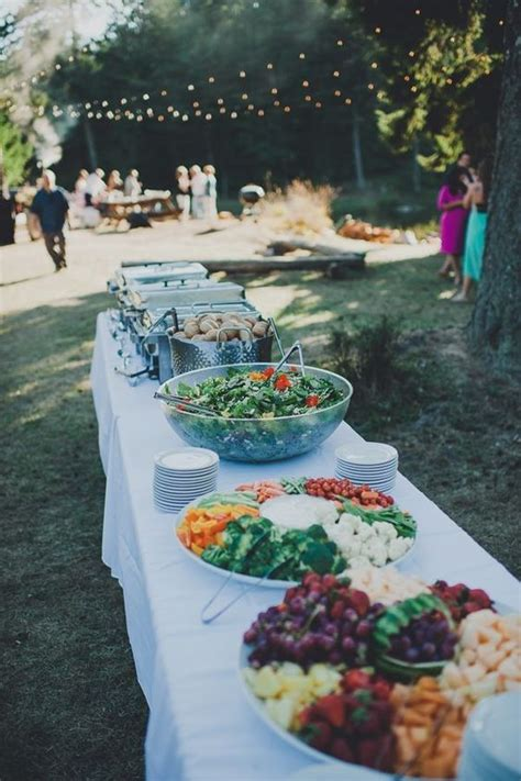 backyard wedding catering best 25 outdoor wedding reception ideas on pinterest