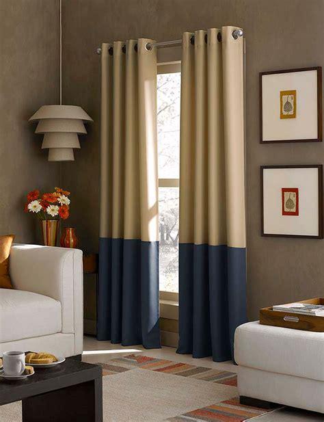 curtain works com curtain works kendall color block grommet single curtain