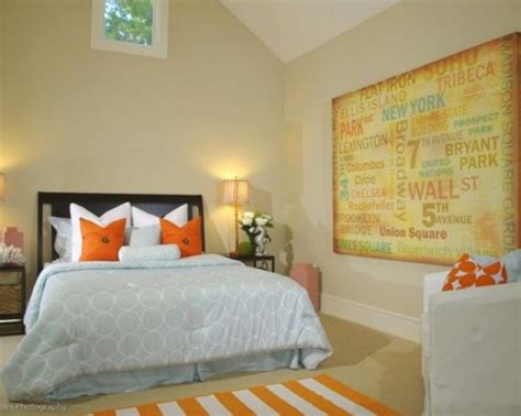 bedroom rearrange our home pinterest colorful bedroom with orange accents for the home