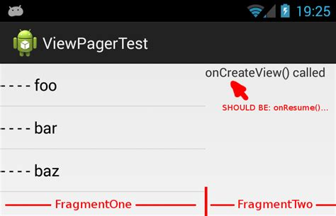 android onresume android onresume not called on viewpager fragment when using custom loader