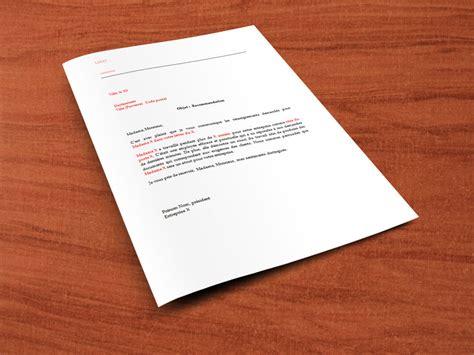 Lettre De Recommandation Pour Logement lettre de recommandation pour un employ 233 187 lettre de