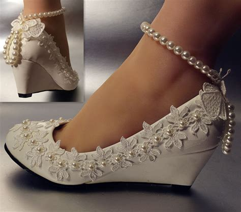 flats wedding shoes lace white ivory wedding shoes flats low