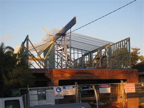 timber skillion roof construction 17 best images about spantec steel framing used with
