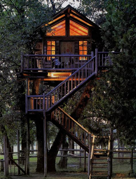 i want to build a house these nine tree houses are unique and beautiful pieces of