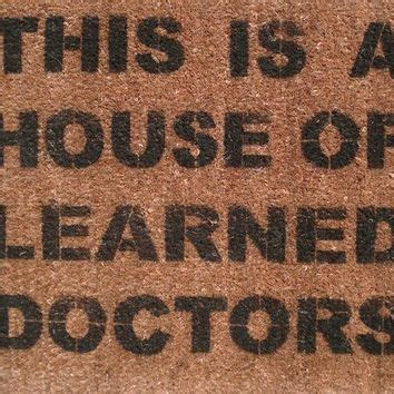 house of learned doctors damngooddoormats on etsy on wanelo