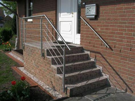 edelstahl treppengeländer treppengel 228 nder aus edelstahl preis per laufenden meter