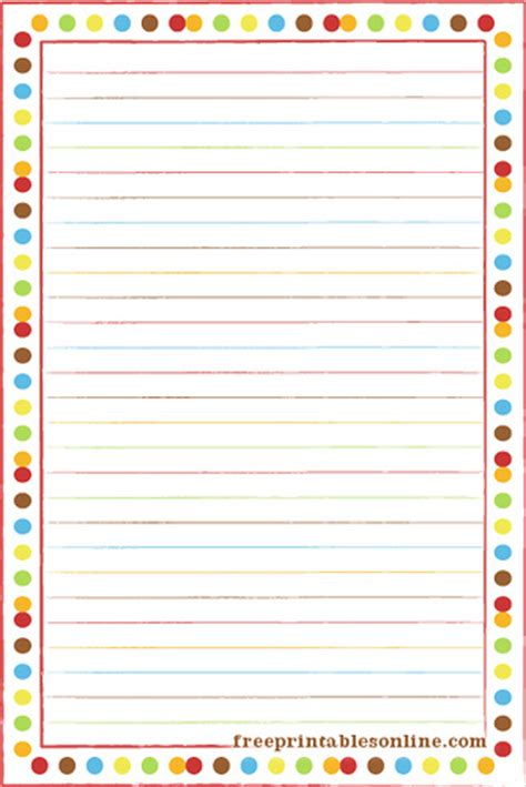 page recipe portrait card template bold polka border portrait recipe card free printables