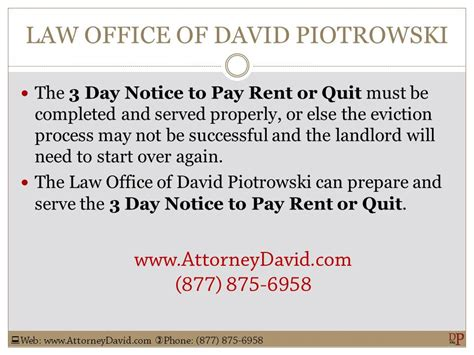 Tenant Eviction Ventura County California 3 Day Notice To Pay Or Quit Sle