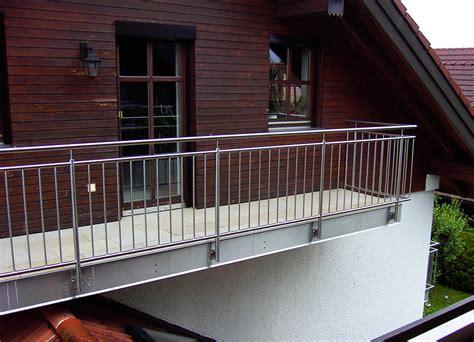 balkongeländer edelstahl kosten gel 228 nder absturzsicherungen f 252 r balkone kliegl treppenbau