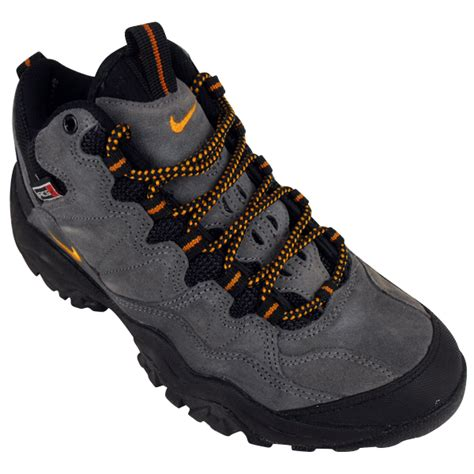 mens nike hiking boots boots mens nike acg brush kicker medium leather hiking