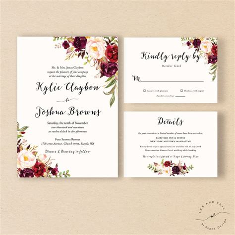 wedding invitations suite 34 best wedding invitation suites and sets images on