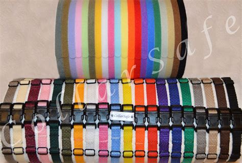id collar collarsafe puppy id collar set collars velcro 174 whelping litter bands ebay