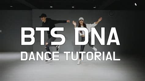 tutorial dance bts dna bts 방탄소년단 dna 안무 배우기 거울모드 dance tutorial mirrored 춤추는곰돌
