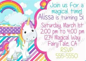 birthday invites cute 10 unicorn birthday invitations for