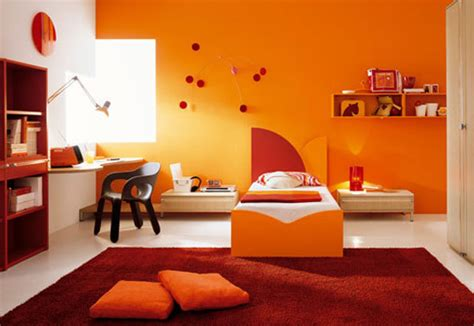 what color goes with orange walls using color to open up spaces the audacity of color