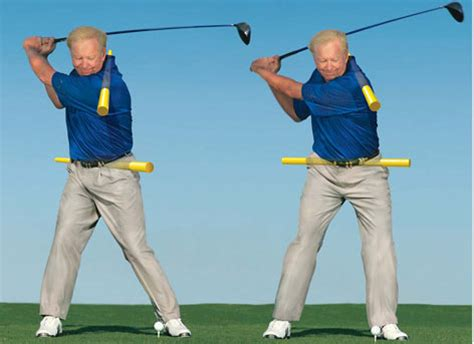 start golf swing with right shoulder iron play hitting your irons further without hitting the