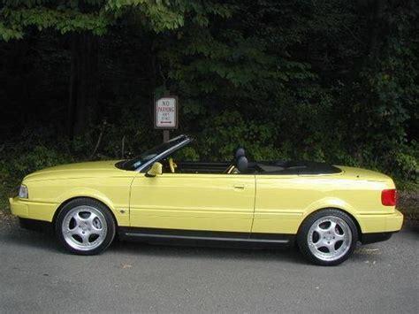 Audi Cabriolet 1997 by Br3nt 1997 Audi Cabriolet Specs Photos Modification Info