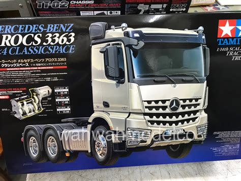 Tamiya Shoo tamiya 56348 rc mercedes actros 3363 6x4 gigaspace 1 14 scale tractor truck