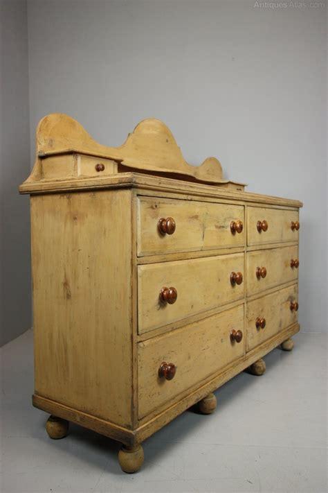 antique pine dresser 19th century antique pine dresser in original crea paint