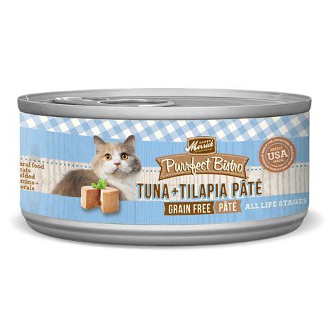merrick purrfect bistro tuna tilapia pate cat food petco store