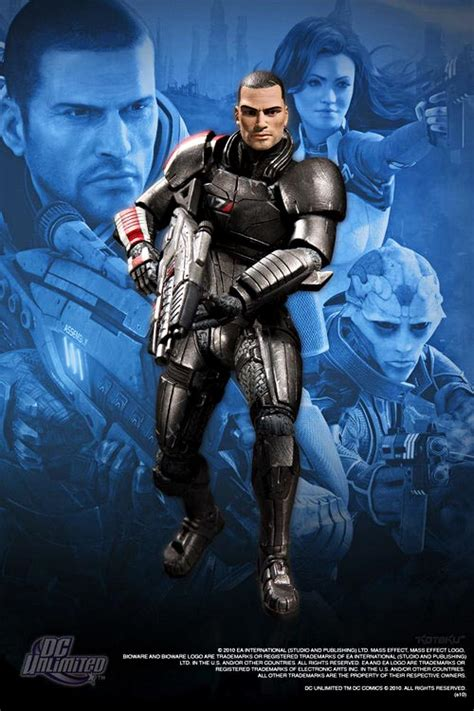 mass effect  action figures gadgetsin