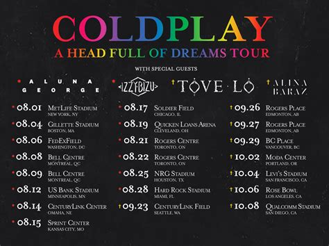 coldplay tickets la toronto and edmonton dates added coldplay