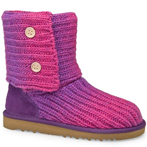 Ugg Classic Cardy Boots 5819 Pink Outlet Stores Australia Uggs Sale Ugg Fluff Ugg Classic Cardy