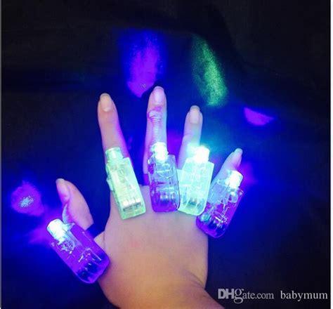 Finger Laser Magic Light 2019 magic finger lights bright led laser finger ring