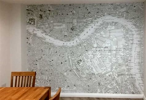 World Map Wall Murals ordnance survey wallpaper maps