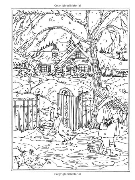 winter wonderland christmas coloring 551 best coloring pages christmas images on coloring books coloring pages and