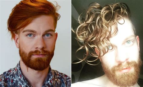before and after straight to curly hair male 15 curly hair transformations you have to see to believe