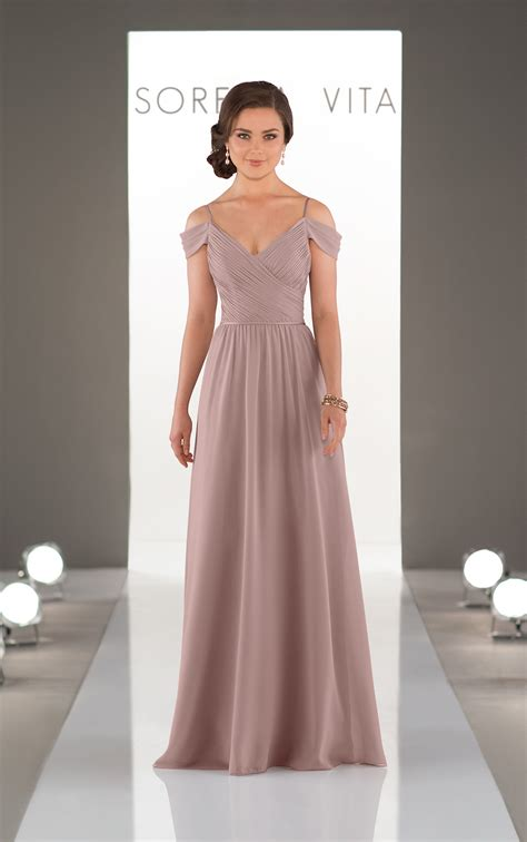 Bridesmaid Gown by Bridesmaid Gowns The Shoulder Gown