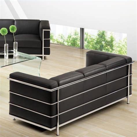 fortress sofa zuo fortress sofa in black 900230