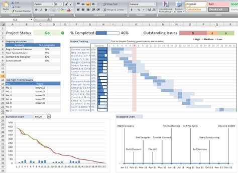 best photos of excel project management spreadsheet