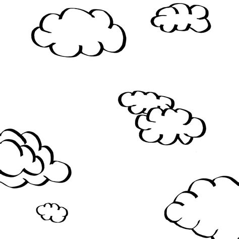 drawings of clouds simple clouds drawing by karl