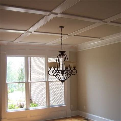 flat coffered ceiling design for the home
