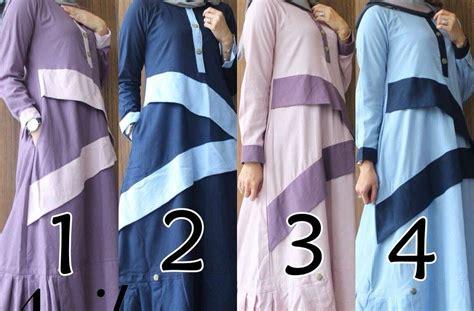 gamis muslim terbaru baju muslim terbaru avika dress by gagil
