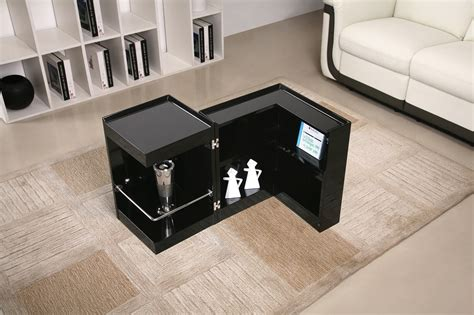 Kitchen Designer Chicago by Contemporary Coffee End Table With Mini Storage Bar Inside