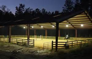 outdoor arena lights about