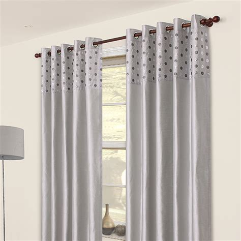 white and silver eyelet curtains duck egg and silver wallpaper joy studio design gallery