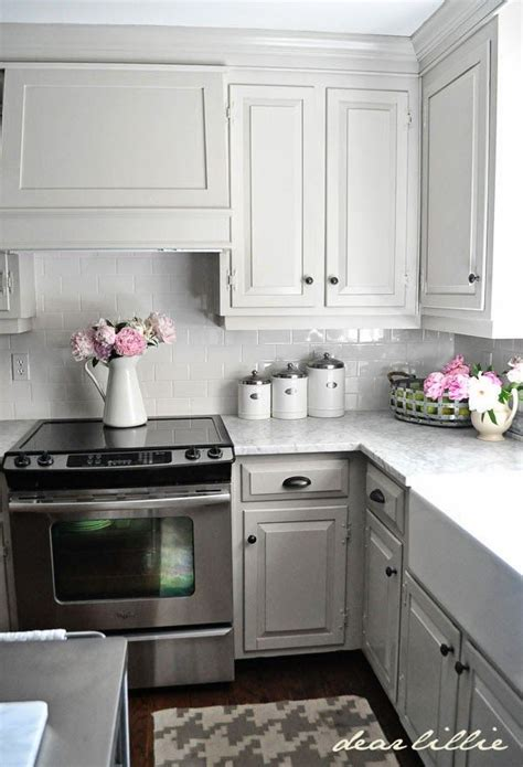 Light Gray Cabinets Kitchen 12 Gorgeous And Bright Light Gray Kitchens A Roundup Of Beautiful Light Gray Kitchen Cabinets