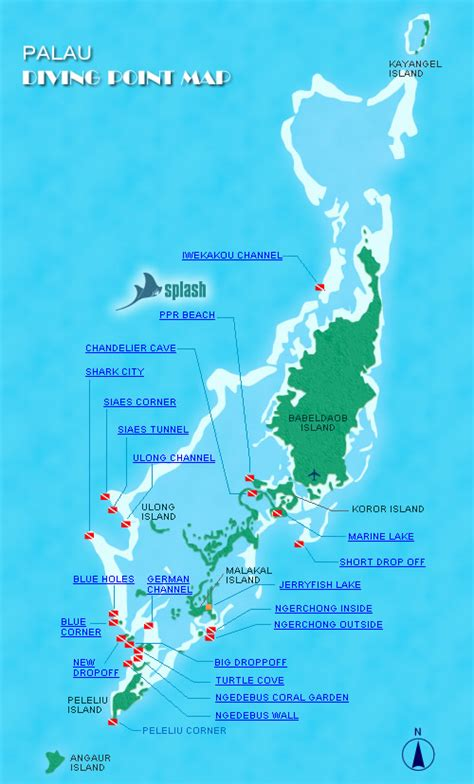 mikes resort dive map palau pacific resort reviews specials bluewater dive travel