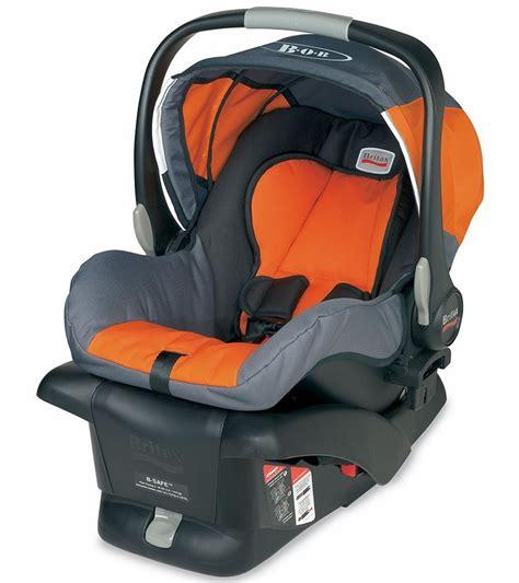 newborn baby car seat safety bob b safe infant car seat orange