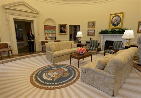 oval office tour the george w bush presidential center zimbio
