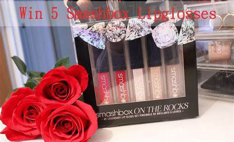 Smashbox Giveaway - kimberley s beauty blog giveaway win a smashbox gift box containing 5 lipglosses