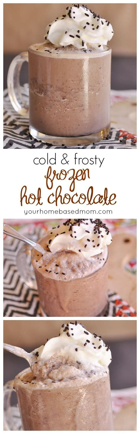 frozen hot chocolate with unsweetened cocoa powder 17 best ideas about frozen hot chocolate on pinterest