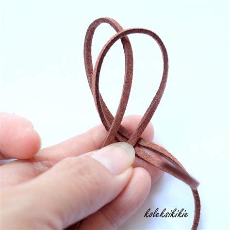 membuat gelang tali cowok thya febrilian membuat gelang tali unisex