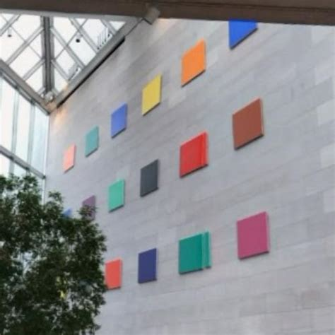 colors for a large wall color panels for a large wall by ellsworth kelly in